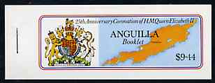 Stamps 1977 Anguilla Royal Silver Jubilee Booklet SB1 Fine Mint