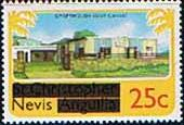 1980 Nevis Craft House SG 41 Fine Mint