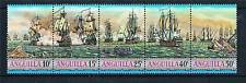 Anguilla 1971 Sea-battles of the West Indies Strip Fine Mint
