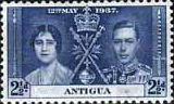 Antigua 1937 King George VI Coronation SG 97 Fine Mint