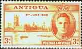 Antigua 1946 King George VI Victory SG 111 Fine Mint