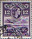 Antigua 1953 SG 128 St Johns Harbour Fine Used