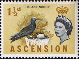 Ascension 1963 Queen Elizabeth II Birds SG 71 Fine Mint