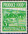 Australia 1953 Food Production 3d SG 255 Fine Mint