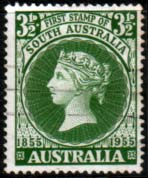 Australia 1955 SG 288 First South Australian Postage Stamps Fine Used