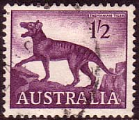 Australia 1959 SG 321 Animal Tasmainian Tiger Fine Used