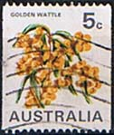 Australia 1970 Flower Coil Stamps SG 467 Fine Used