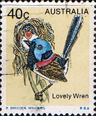 Stamps Australia 1978 Variegated Wren Fine Used SG 678 Scott 717