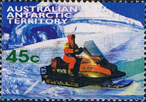 Stamps Australian Antarctic Territory 1998 Transportation Skidoo Fine Used SG 123 Scott L109