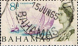 Bahamas 1965 SG 254 Yachting Fine Used
