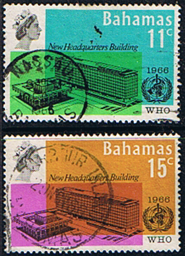 Stamps of Bahamas 1966 World Health Organisation Set Fine Used