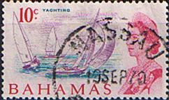 Postage Stamps of Bahamas 1967 Decimal  SG 301 Yachting Fine Used