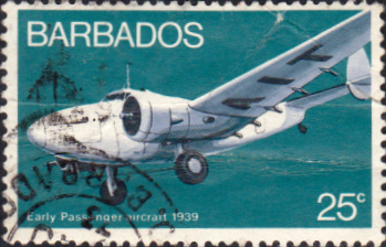 Barbados 1973 Aviation SG 474 Fine Used