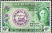 Bermuda 1949 The Perot Stamp SG 129 Fine Mint