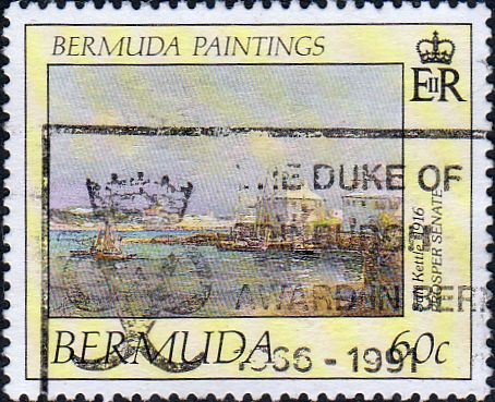 Bermuda Stamps 1989 Old Garden Roses Set Fine Mint
