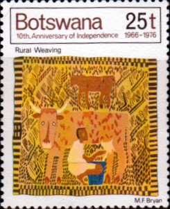 Botswana 1976 Rural Weaving SG 384 Fine Mint