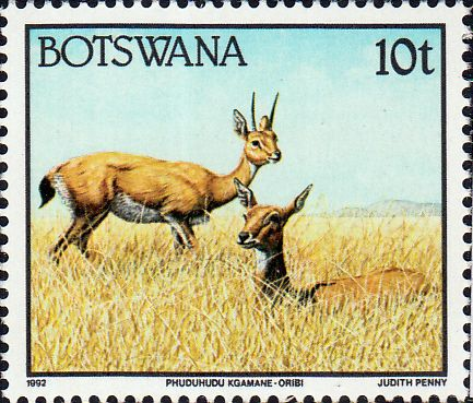 Botswana 1992 Animals SG 742 Fine Mint
