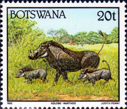 Botswana 1992 Animals SG 745 Fine Mint