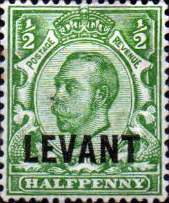 British Levant 1911 British Currency SG L12 Fine Mint