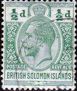 British Solomon Islands 1914 SG 22 George V Head Fine Used