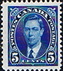 Canada King George VI Issue