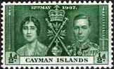 Cayman Islands 1937 Coronation SG 112 Fine Mint