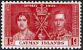 Cayman Islands 1937 Coronation SG 113 Fine Mint