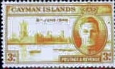 Cayman Islands 1946 King George VI Victory SG 128 Fine Mint