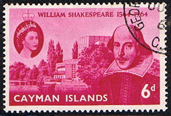 Cayman Islands 1964 William Shakespeare Stamps