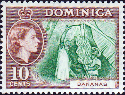 Military Vehicles For Sale Canada >> Stamps Stamp Dominica 1954 Queen Elizabeth II SG 149 Fine Used Scott