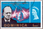 Dominica 1966 SG 187 Churchill Fine Used