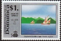 Stamp Stamps Dominica 1988 Reunion Tourism Programme Set Fine Mint