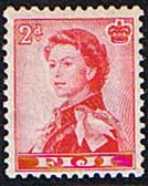 Fiji 1962 SG 312 Queens Portrait Fine Mint