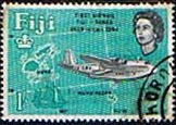 Fiji 1964 25th Anniv of First Fiji-Tonga Airmail Service SG 340 Fine Used