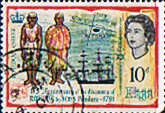 Fiji 1966 175th Anniv of Discovery of Rotuma SG 352 Fine Used