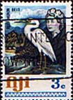 Postage Stamps Fiji 1969 SG 361 Reef Heron Belo Used Scott 292 Bird