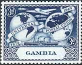 Gambia 1949 Universal Postal Union SG 167 Fine Mint