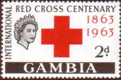 Gambia 1963 Red Cross Centenary SG 191 Fine Mint