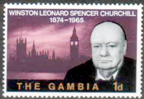 Gambia 1966 Churchill SG 230 Fine Mint