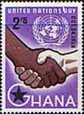 Ghana 1958 United Nations Day SG 203 Fine Mint