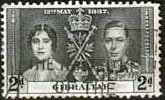 Gibraltar 1937 SG 119 King George VI Coronation Fine Used
