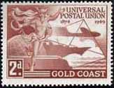 Gold Coast 1949 UPU SG 149 Fine Mint