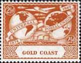 Gold Coast 1949 UPU SG 150 Fine Mint