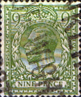 GB Stamps Great Britain 1912 King George V Head SG 393a Fine Used Scott 170