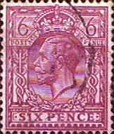 GB Stamps Great Britain 1924 King George V Head SG 426a Fine Used Scott 195