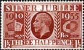 Great Britain 1935 King George V Silver Jubilee SG 455 Fine Mint