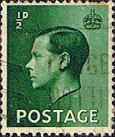 GB Stamps Great Britain 1936 King Edward VIII SG457 Fine Used Scott 230