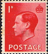 GB Stamps Great Britain 1936 King Edward VIII Set Fine Mint