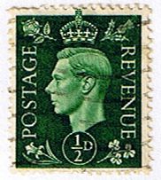 Great Britain 1937 King George VI Head SG 462 Fine Used