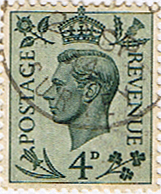 Great Britain 1937 King George VI Head SG 468 Fine Used